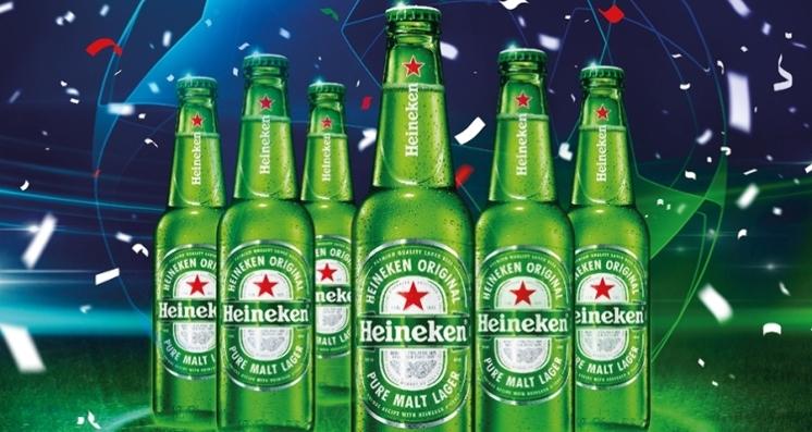 Heineken  y la UEFA Champions League