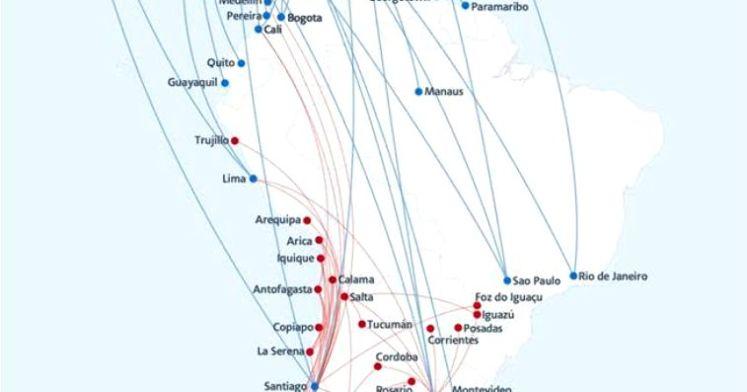La red de rutas más amplia de las Américas