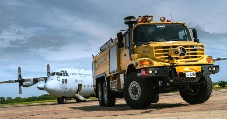 Incorporó camiones Zetros