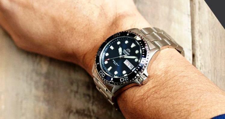 Nuevo reloj masculino de Orient