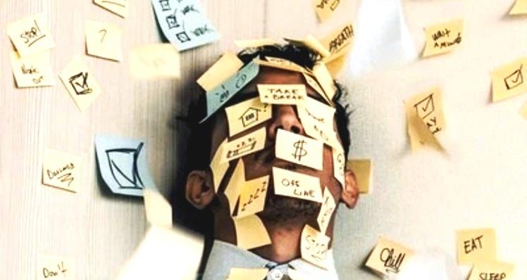 Presiones laborales y estrés