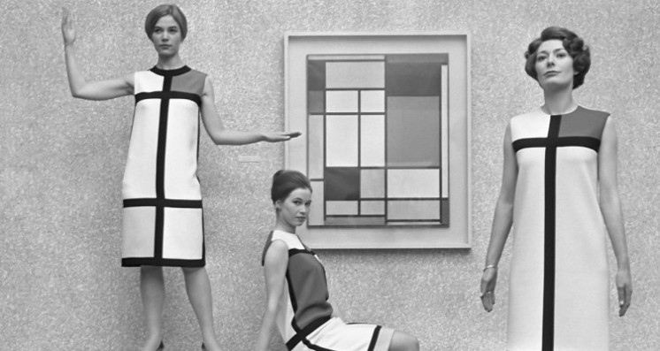 El vestido Mondrian