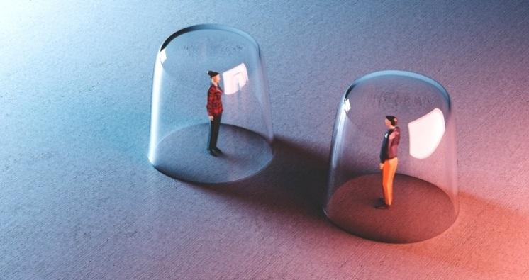 En una burbuja