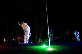 Cariló Golf de noche